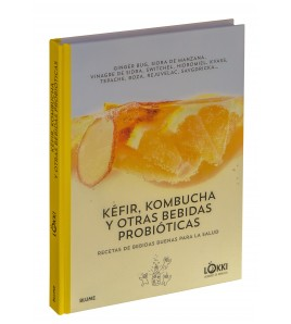 Kéfir,kombucha y otras bebidas probióticas