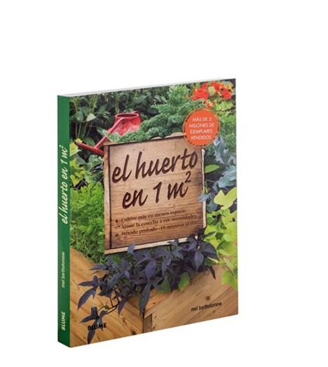 Portada del libro de jardinería El huerto en 1 m2