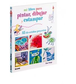 Mi libro para pintar, dibujar y estampar