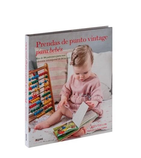 Prendas de punto vintage para bebés