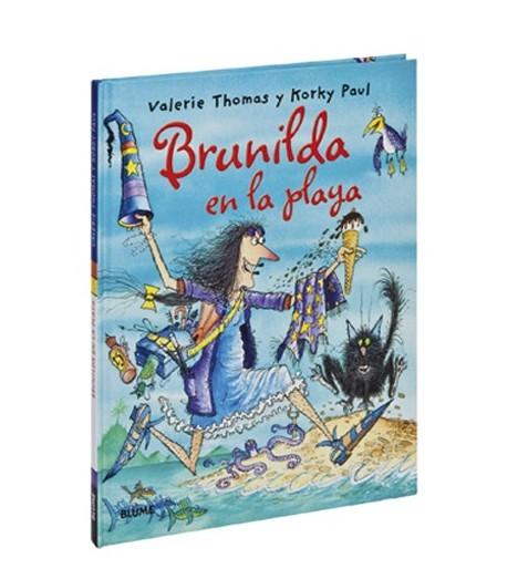 Brunilda en la playa