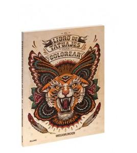 El libro de tatuajes para colorear