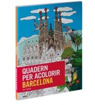 Quadern per acolorir Barcelona