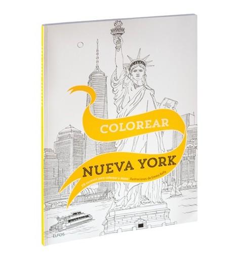 Colorear Nueva York - Blume