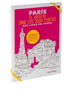 París. El juego de unir los 3000 puntos más largo del mundo