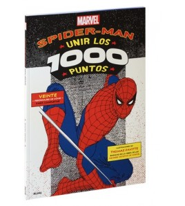 Spiderman. Unir los 1000 puntos