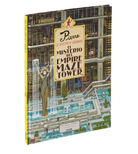 Pierre. El detective de laberintos. El misterio del Empire Maze Tower