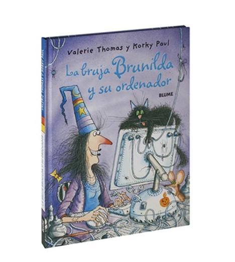 La bruja Brunilda y su ordenador