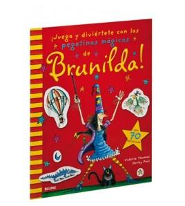 ¡Juega y diviértete con las pegatinas mágicas de Brunilda!